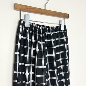 CHECKERED HIGHWAISTED PANTS NWOT